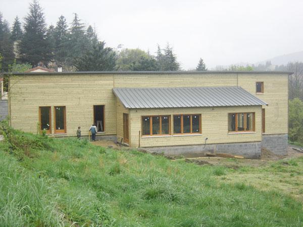 Isolation phonique maison ossature bois - Isolation maison ossature bois ...